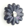 Lamp Bead Daisy Vintage 1Pc 27mm Noir